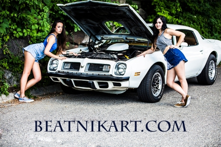 beatnikart.com; fashion; outdoor; heels; dress; canon; dslr; photography; michigan; oakland; hotrod; classic; car; ratrod; legs; pontiac; hotrod; trans am; firebird